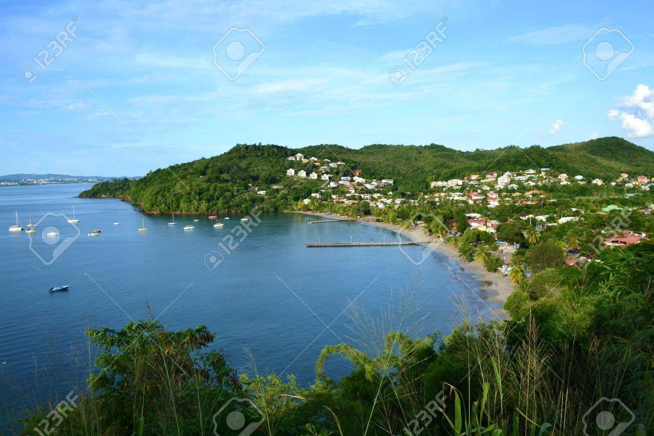 Peaceful Tropical bay with beach Stock Photo - 66120254