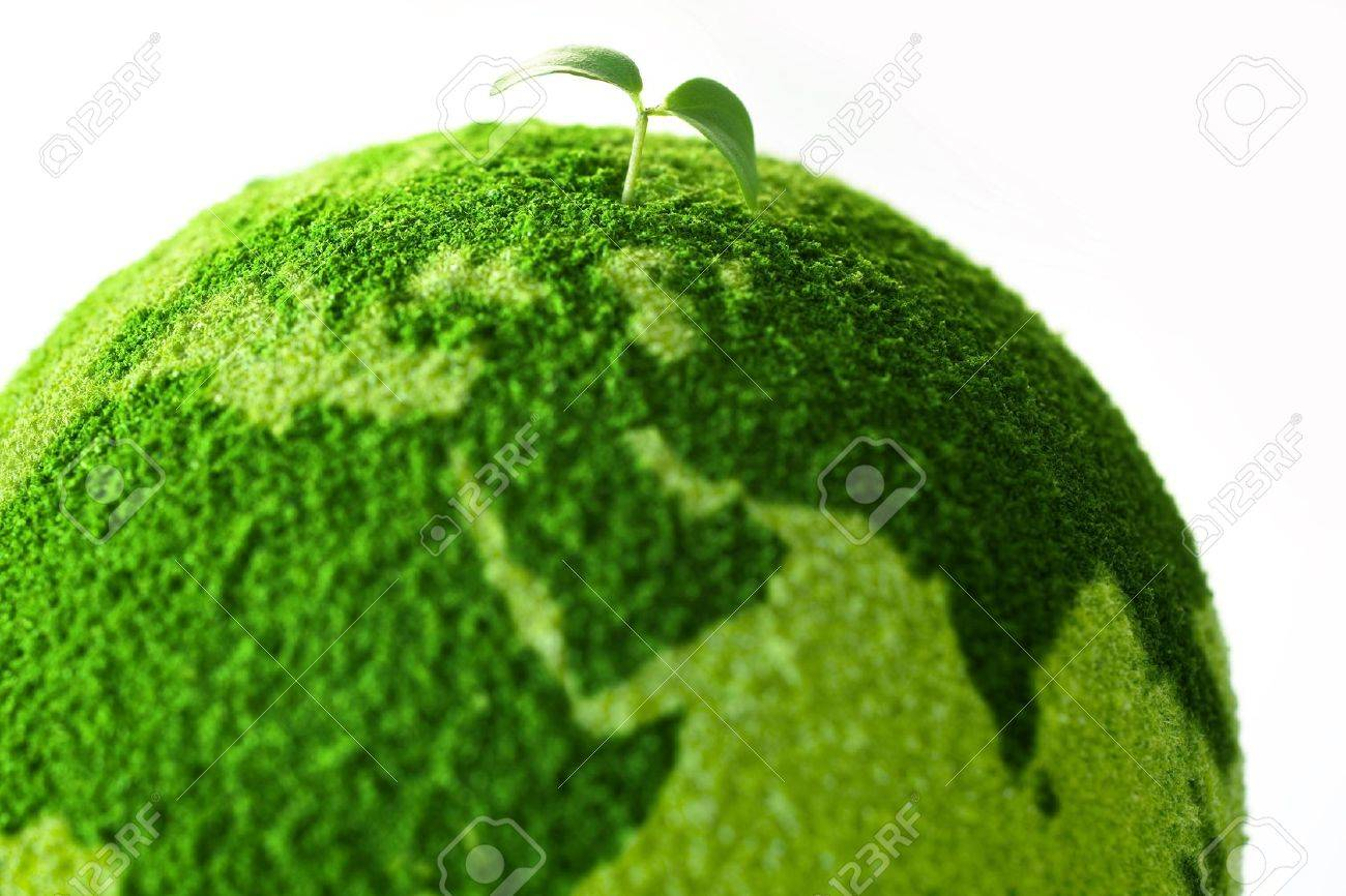 Planet with tree and Sprout - 9387943