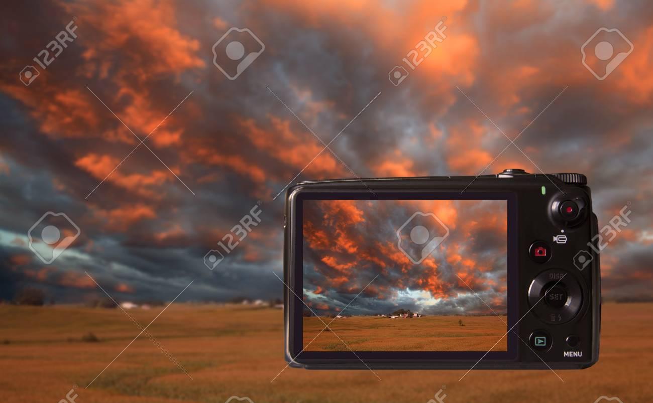 Digital camera Stock Photo - 9474622