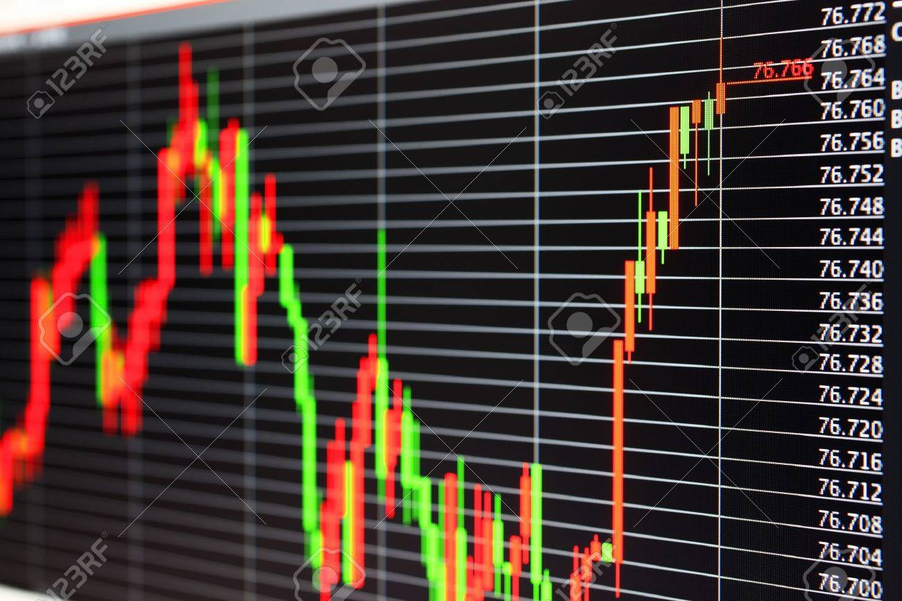 Foreign exchange market chart Stock Photo - 10945995