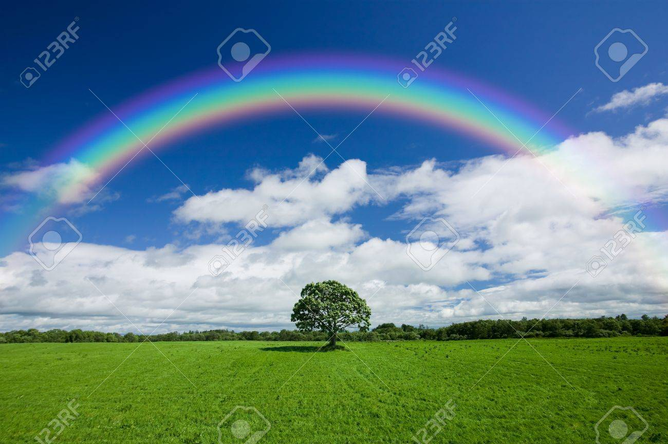 rainbow clouds stock photos u0026 pictures royalty free rainbow
