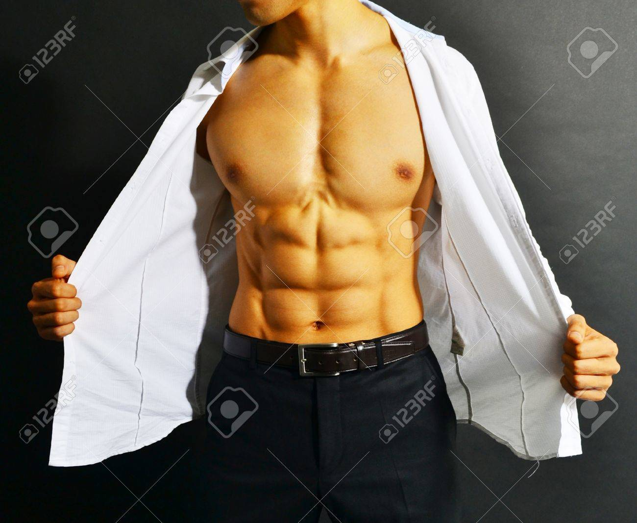 Muscular Torso Stock Photo Picture And Royalty Free Image Image