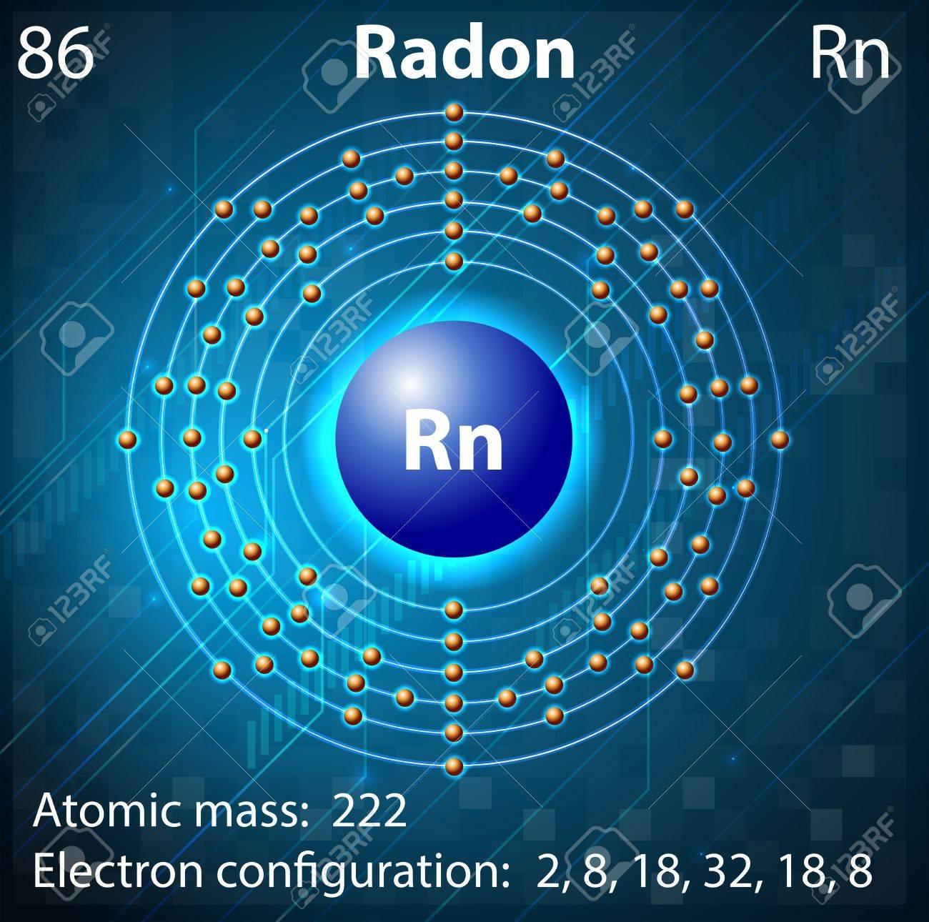 219 radon stock vector illustration and royalty free radon clipart illustration of the element radon buycottarizona