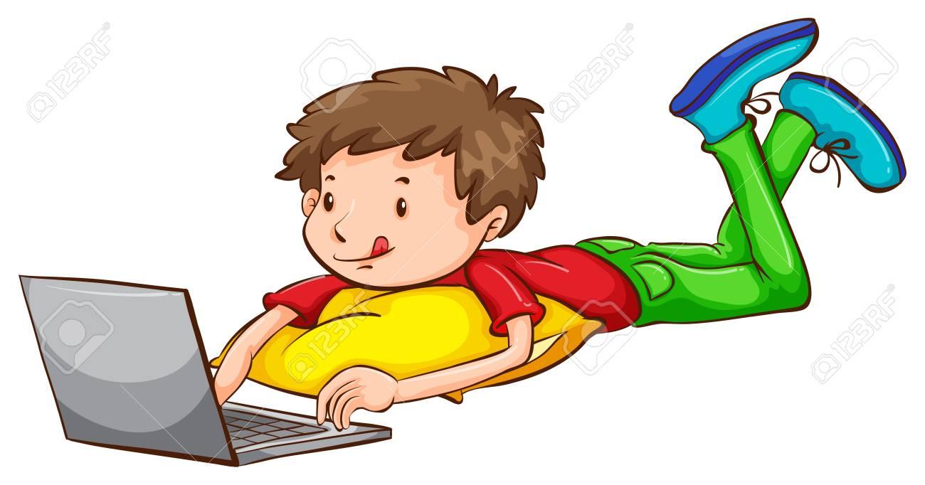 Resultado de imagen de niño ordenador