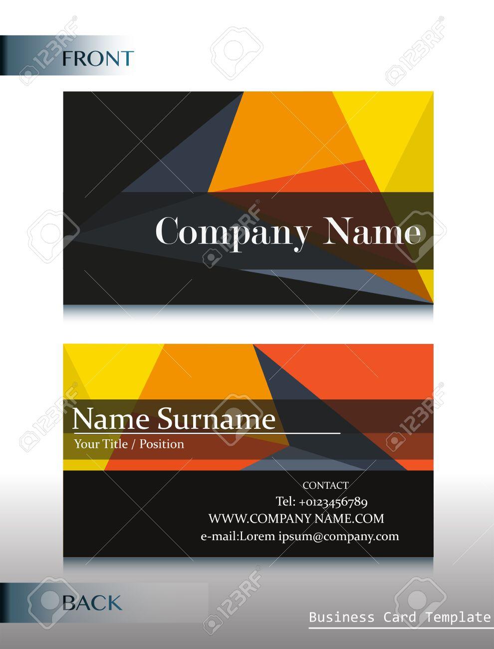 A company calling card template royalty free cliparts vectors and a company calling card template stock vector 34469955 flashek Choice Image