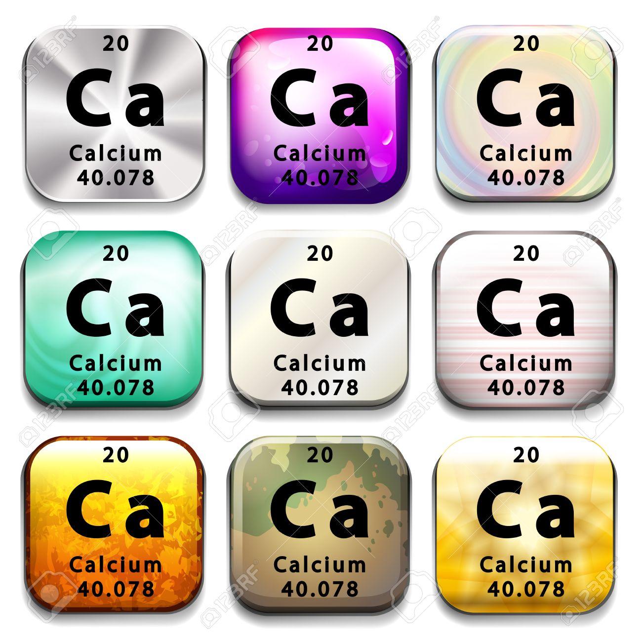 Periodic table for calcium gallery periodic table images a periodic table showing calcium on a white background royalty a periodic table showing calcium on gamestrikefo Images
