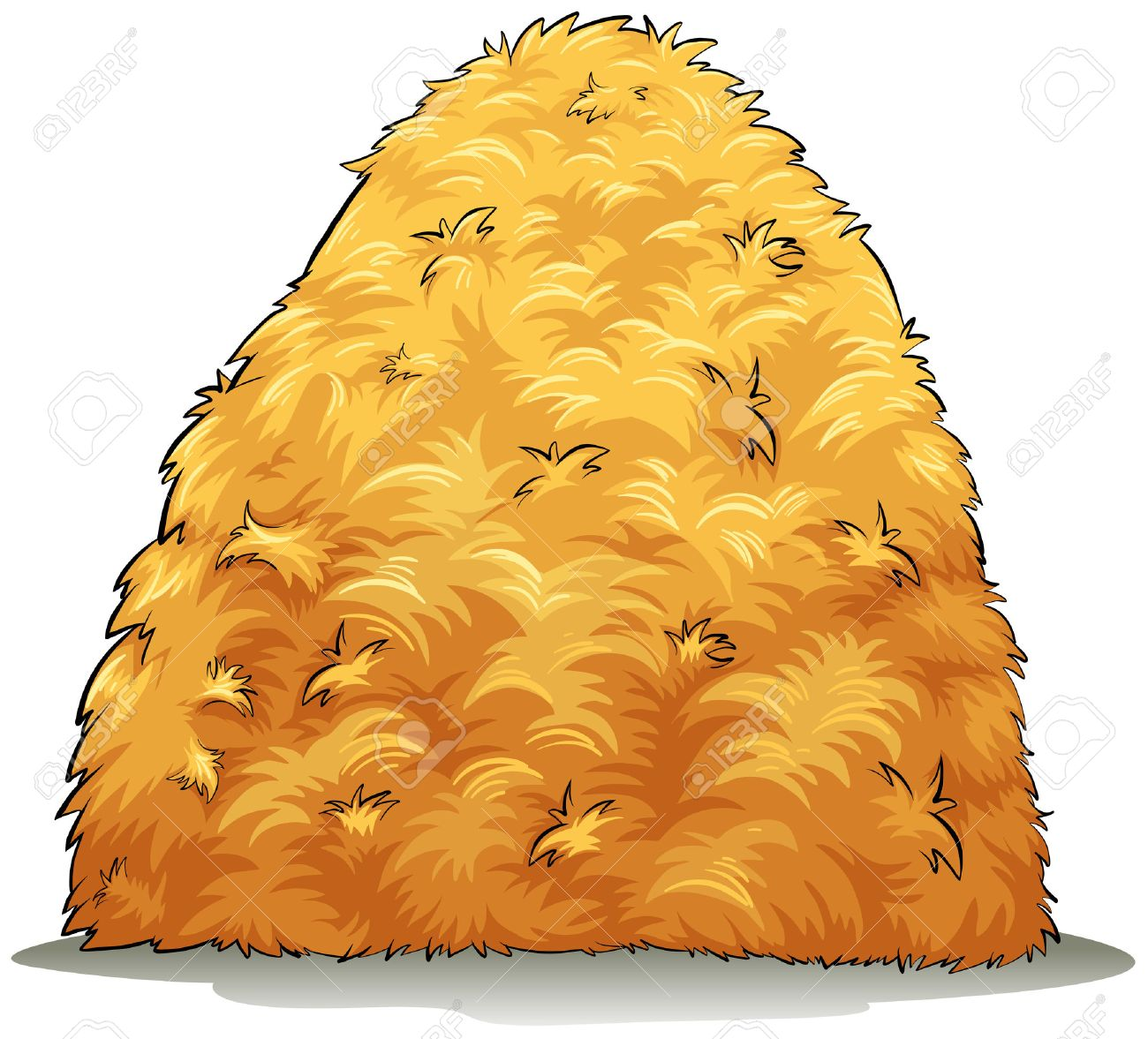 1 020 the haystack stock illustrations cliparts and royalty free rh 123rf com fall haystack clipart Haystack Drawing