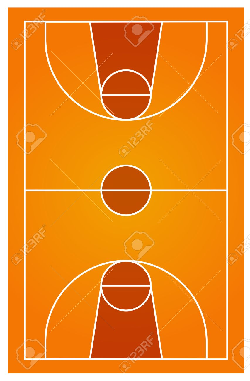 354 Indoor Basketball Court Stock Illustrations, Cliparts And ...
