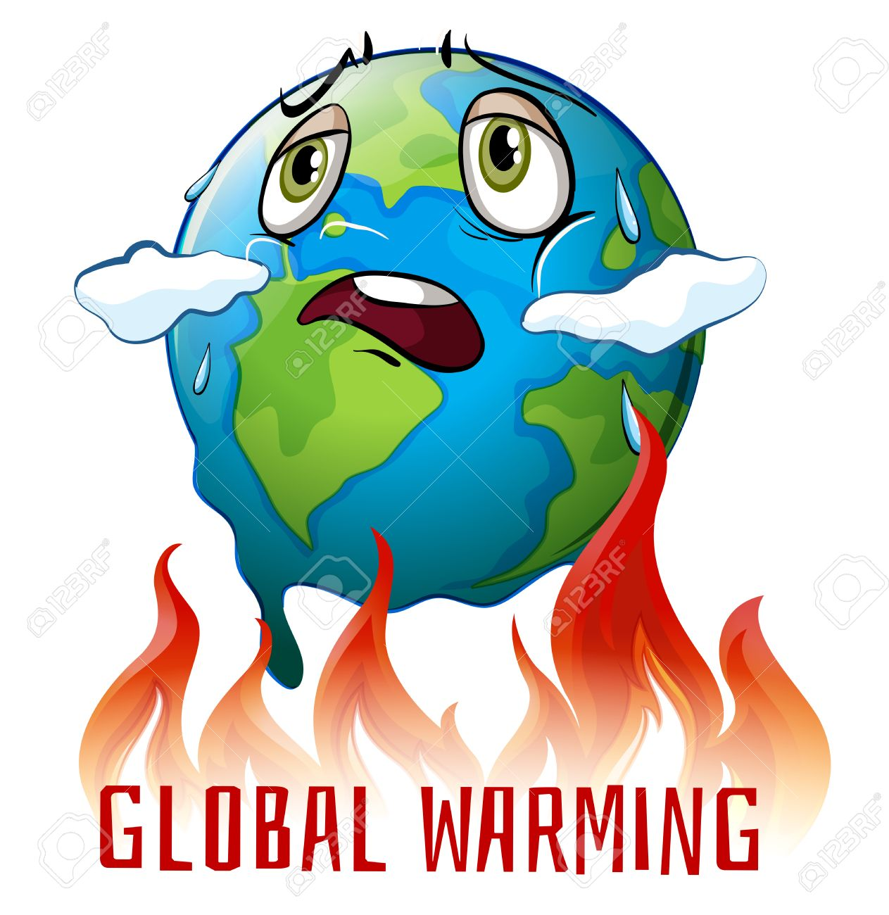 A Poster Based On Global Warming