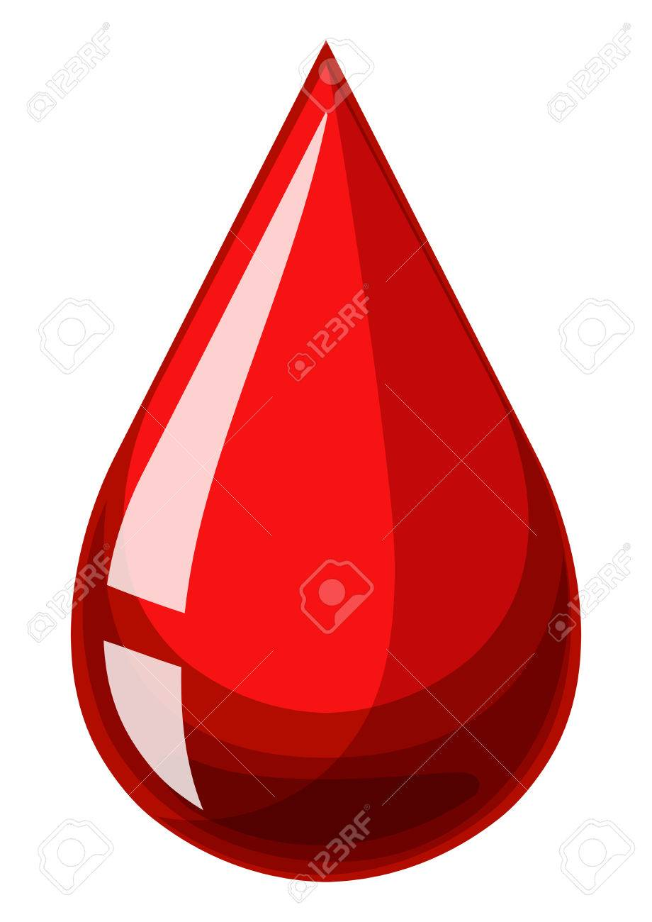 single drop of human blood illustration royalty free cliparts rh 123rf com  blood drop clipart images