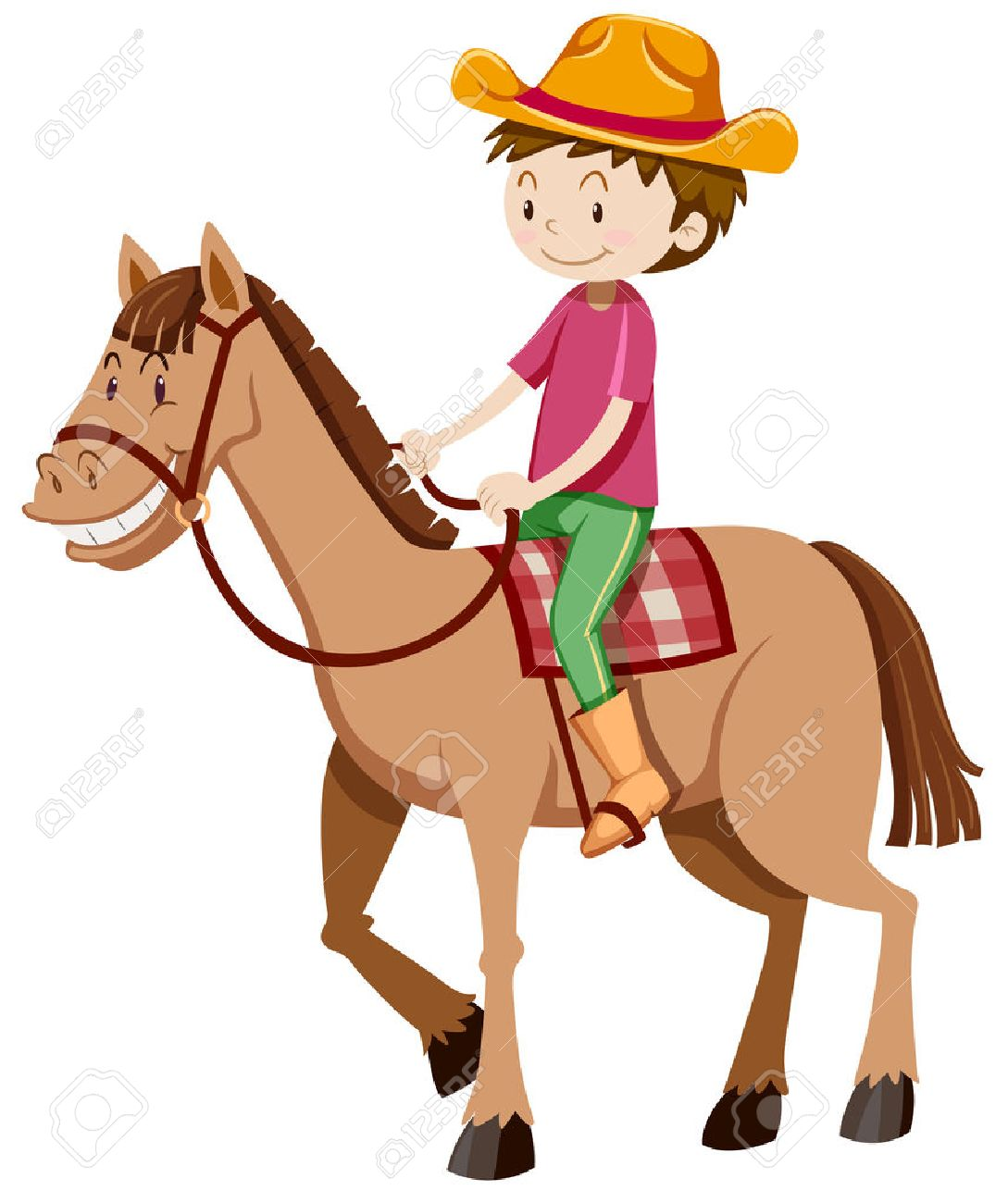 man riding horse alone illustration royalty free cliparts vectors rh 123rf com horse racing clip art images horse riding clipart black and white