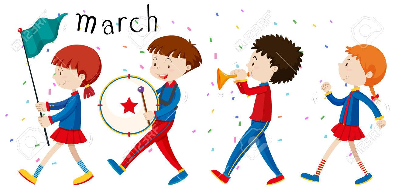 1 693 marching cliparts stock vector and royalty free marching rh 123rf com marching clipart gif ants marching clipart