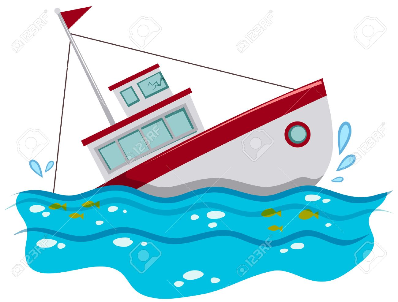 322 sinking ship stock vector illustration and royalty free sinking rh 123rf com