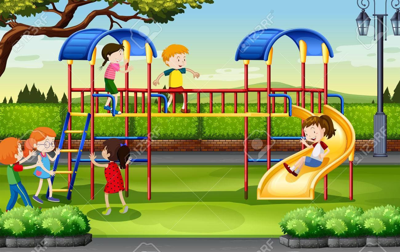 Resultado de imagen de parque niños