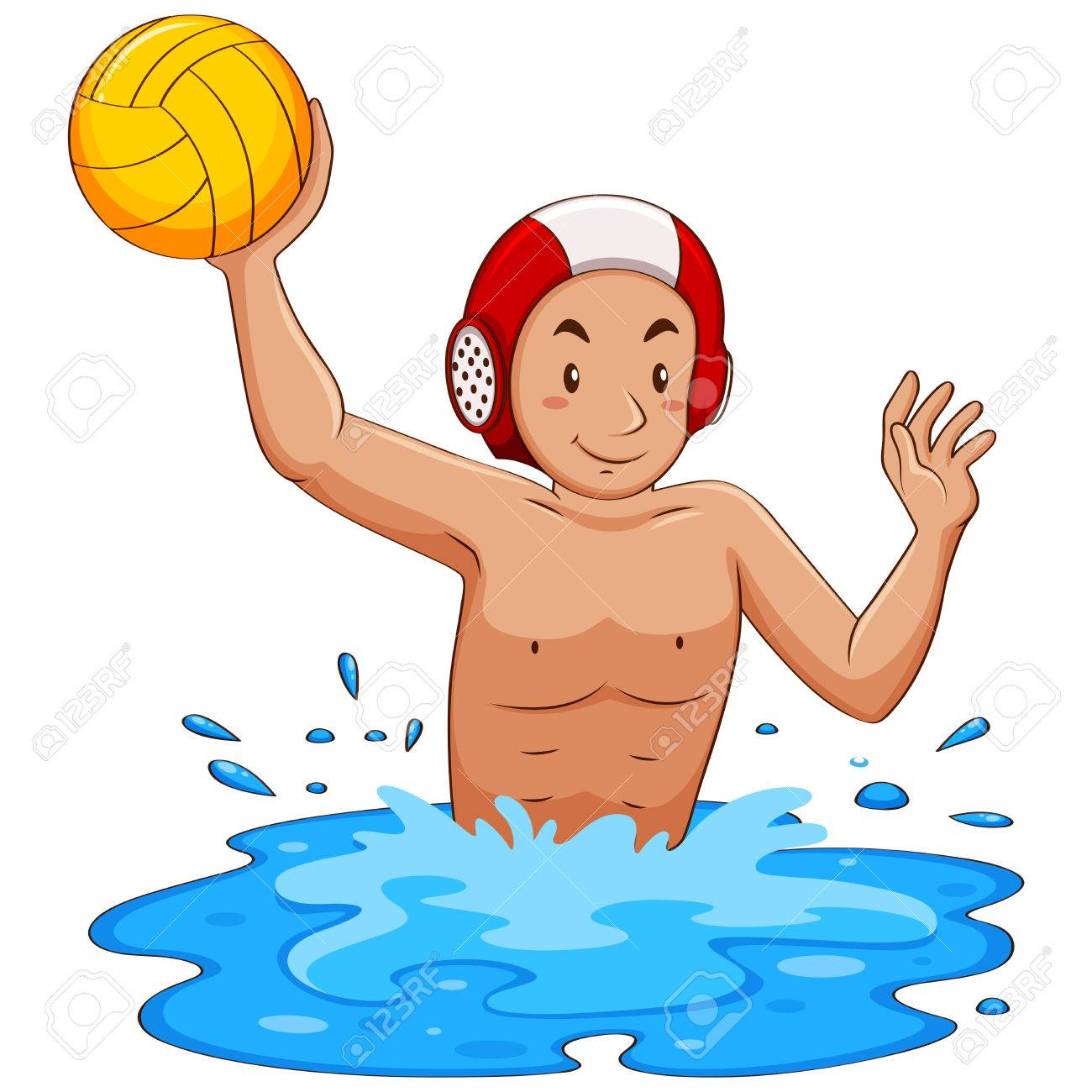 1 290 water polo stock illustrations cliparts and royalty free rh 123rf com water polo ball clipart water polo images clip art