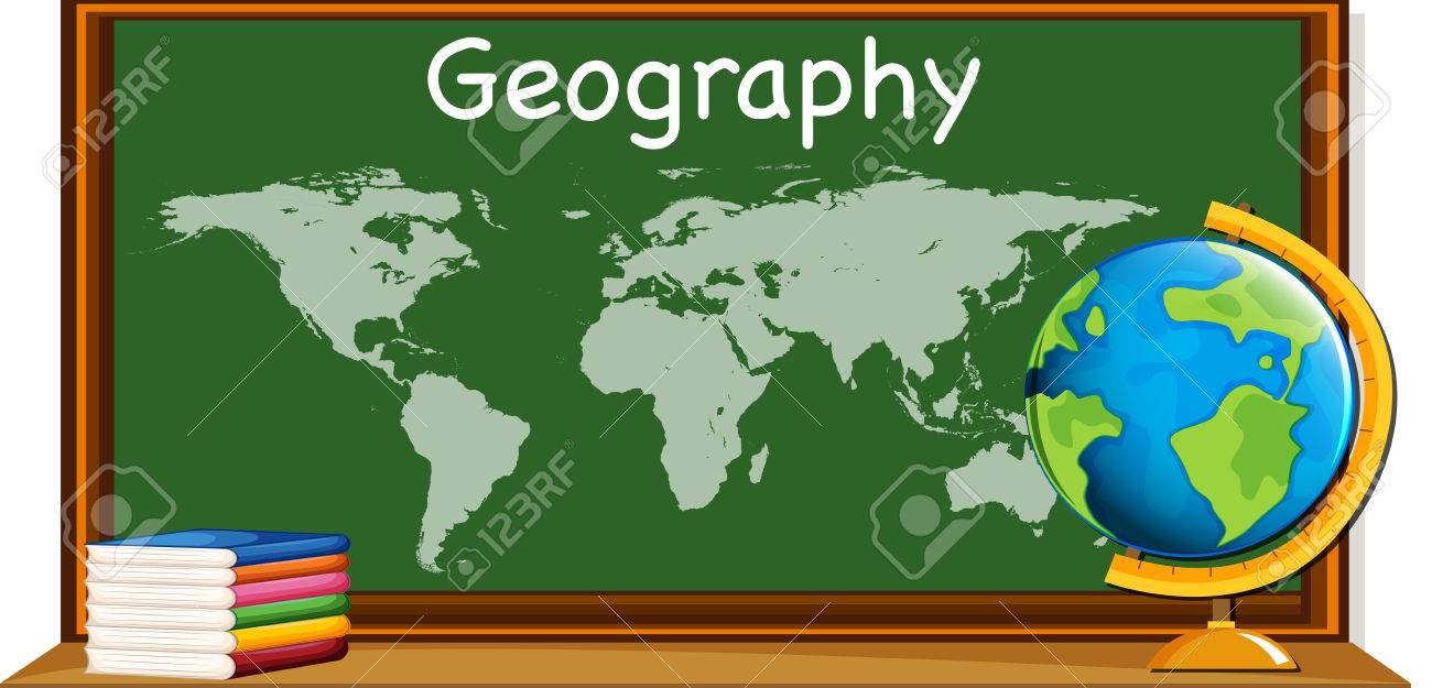 Geography subject with worldmap and books illustration royalty free geography subject with worldmap and books illustration stock vector 68927890 gumiabroncs Choice Image