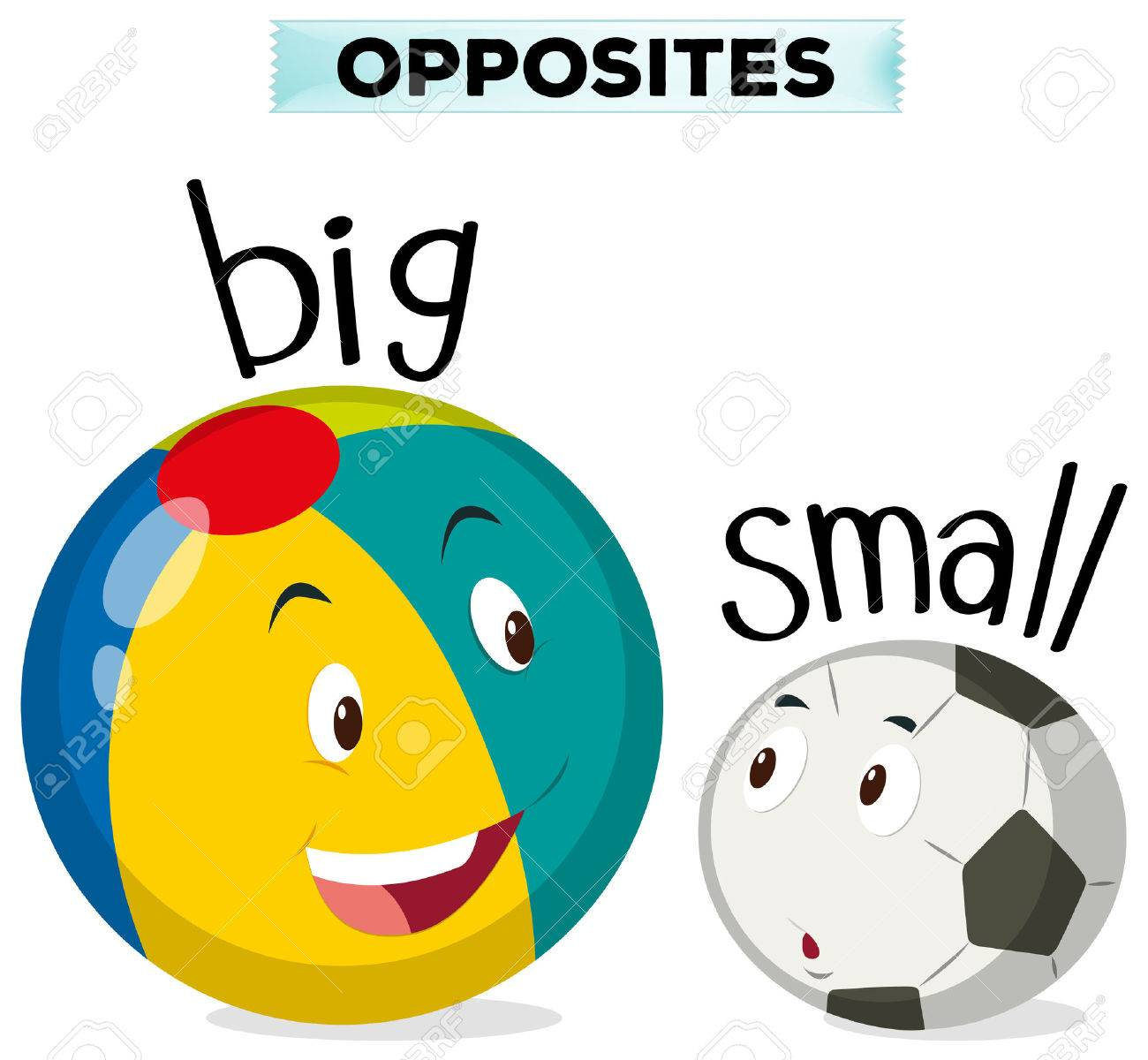 opposite words for big and small illustration royalty free cliparts rh 123rf com bing clip art images bing clip art free download