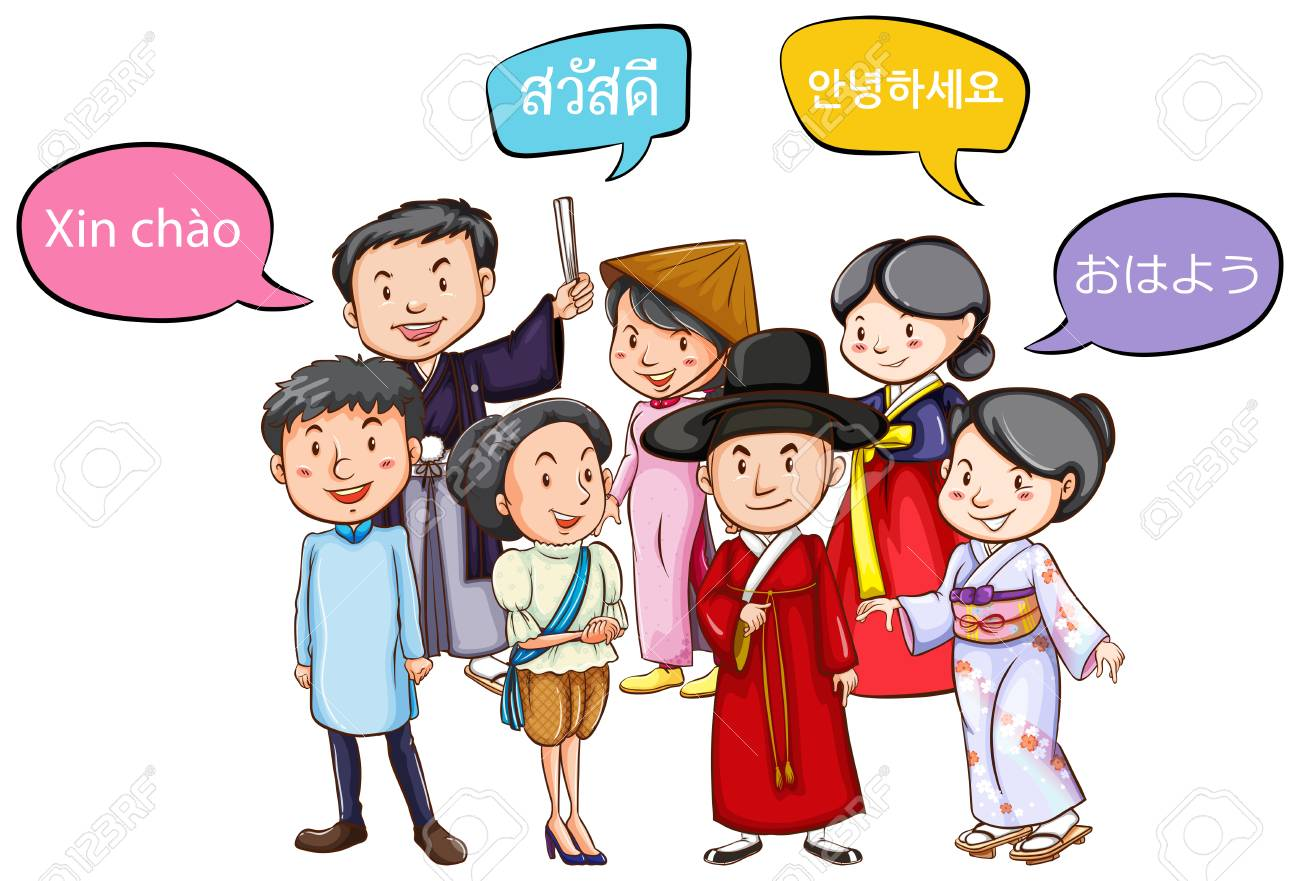 People Greeting Each Other Clipart 9775 Trendnet