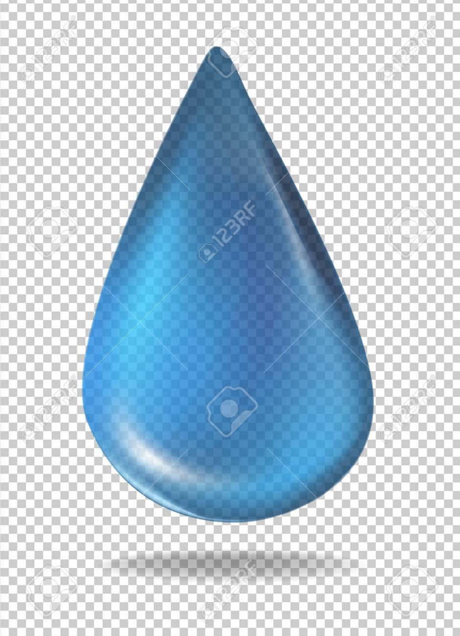 青い液体イラストの液滴のイラスト素材ベクタ Image 79459830