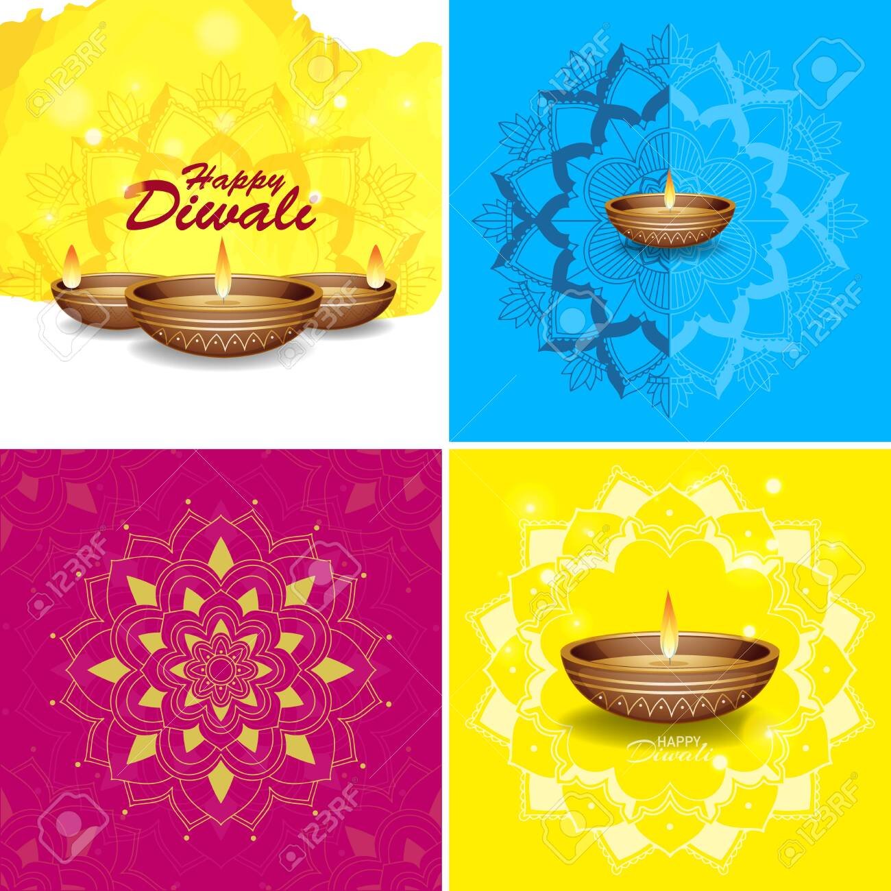 Background Template With Mandala Designs Illustration Royalty Free Cliparts Vectors And Stock Illustration Image 139999866