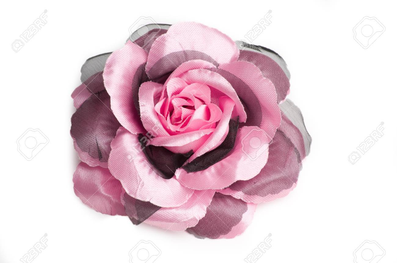 A pink flower hair clip for women on isolated white background a pink flower hair clip for women on isolated white background stock photo 16131876 mightylinksfo