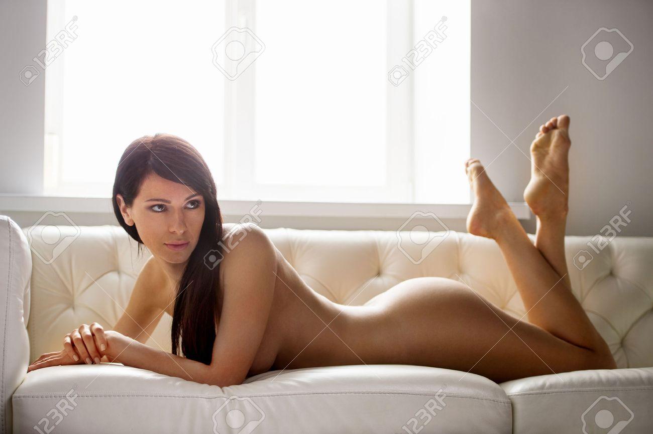 schöne nackte Brünette Frauen