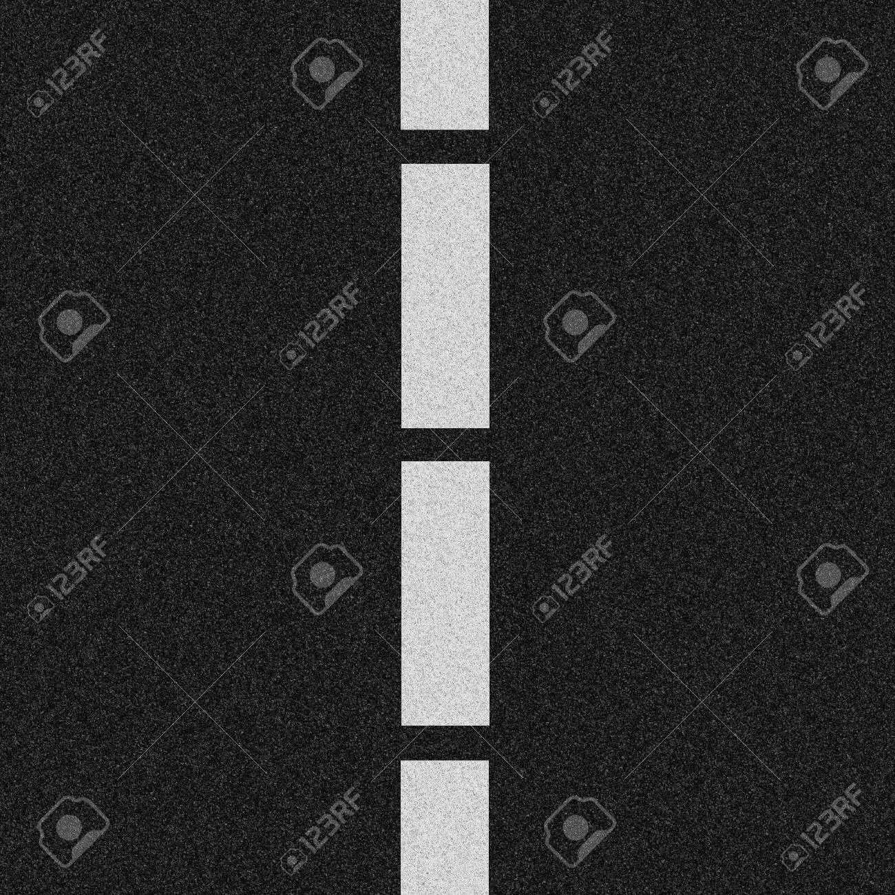 Asphalt With Lines will tile with Asphalt Without Lines Image. Stock Photo - 3332356