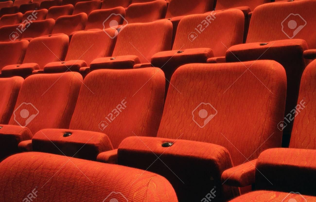 Rows of theatre seats Stock Photo - 4665157