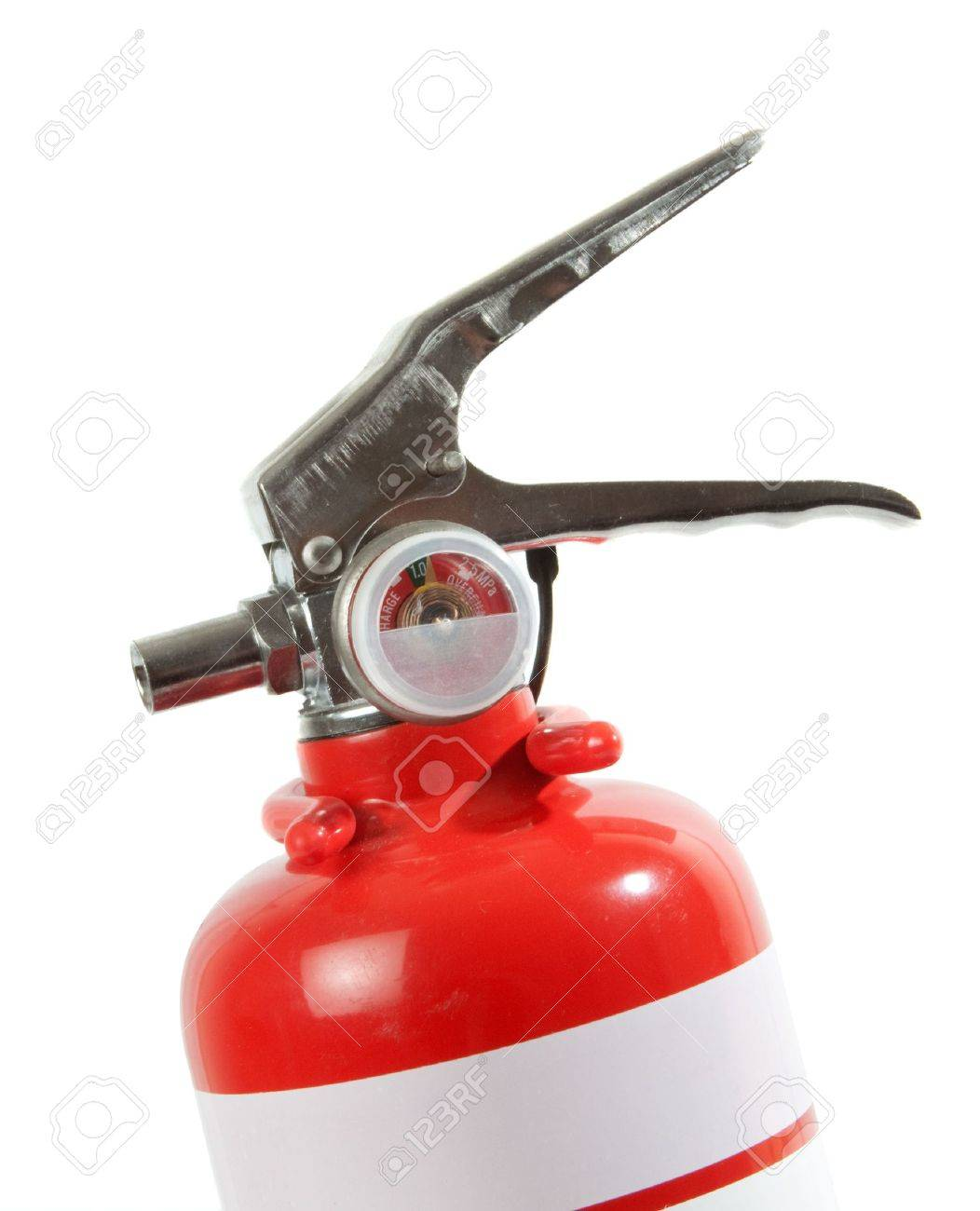 Portable Fire Extinguisher isolated over white background. Stock Photo - 6828317