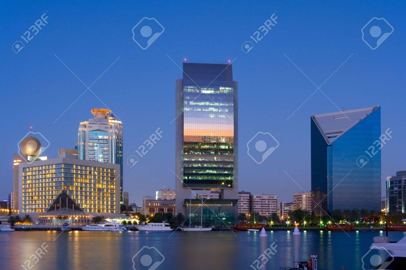 Skyline of Dubai Stock Photo - 4658616