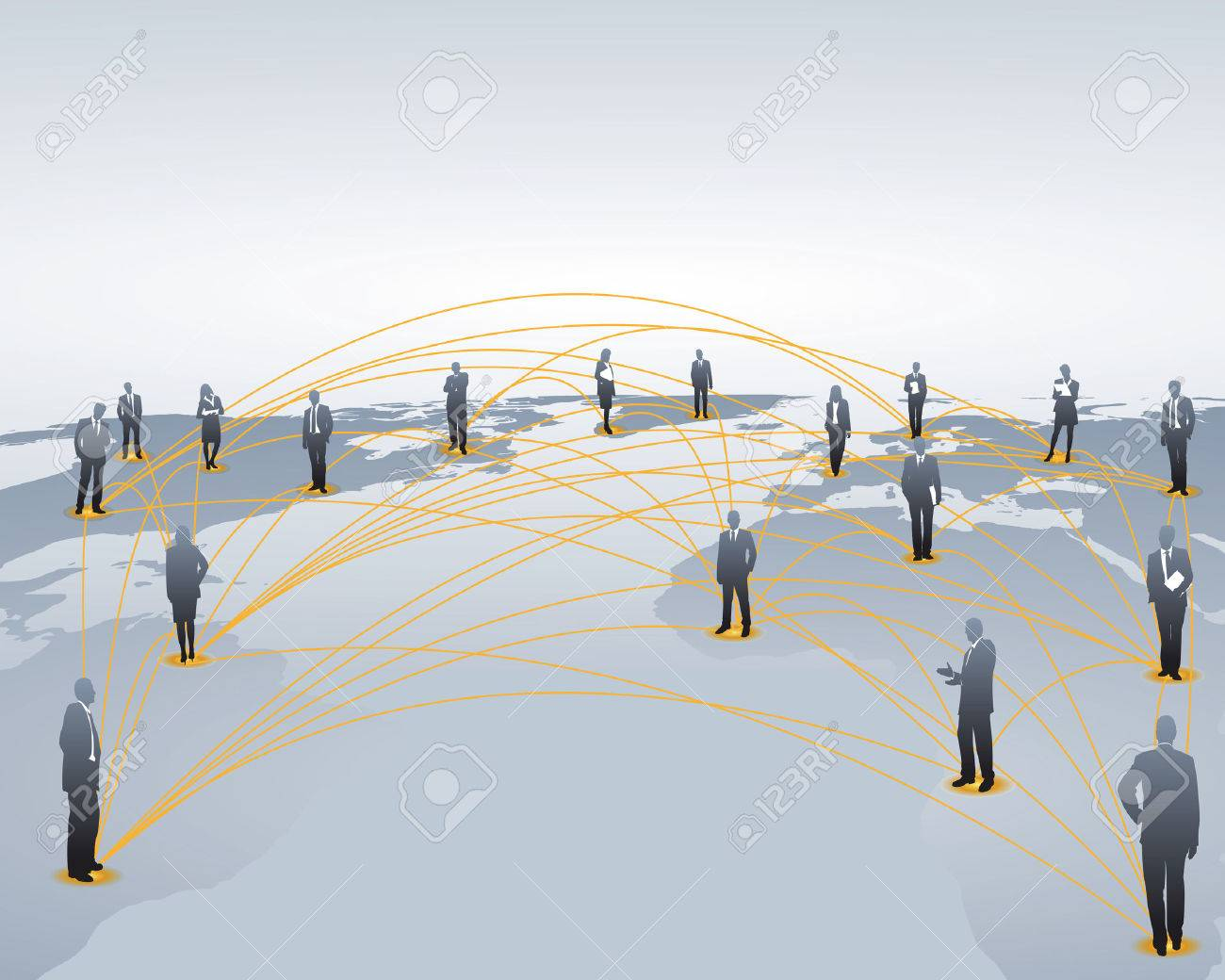 world wide networking Stock Vector - 4696866