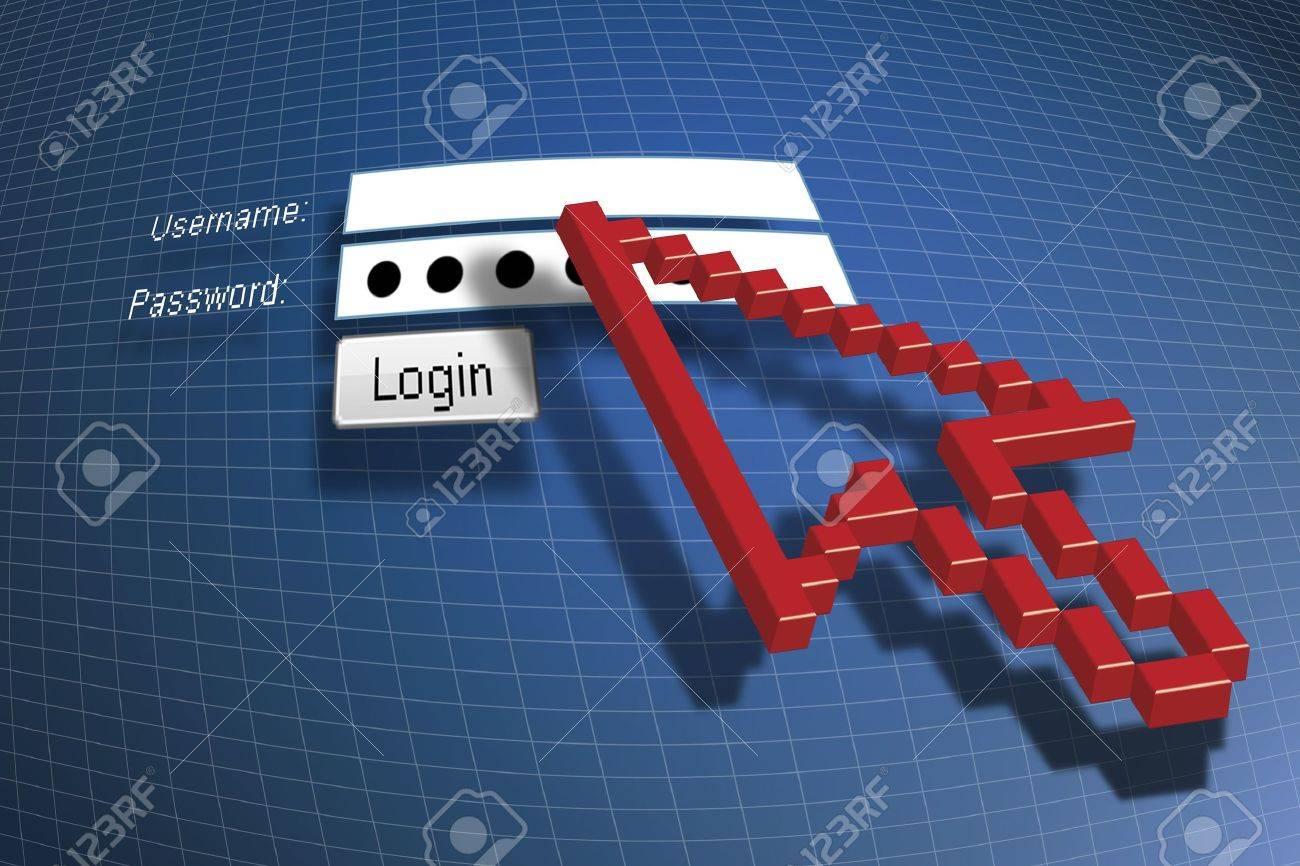 log on Stock Photo - 4739732