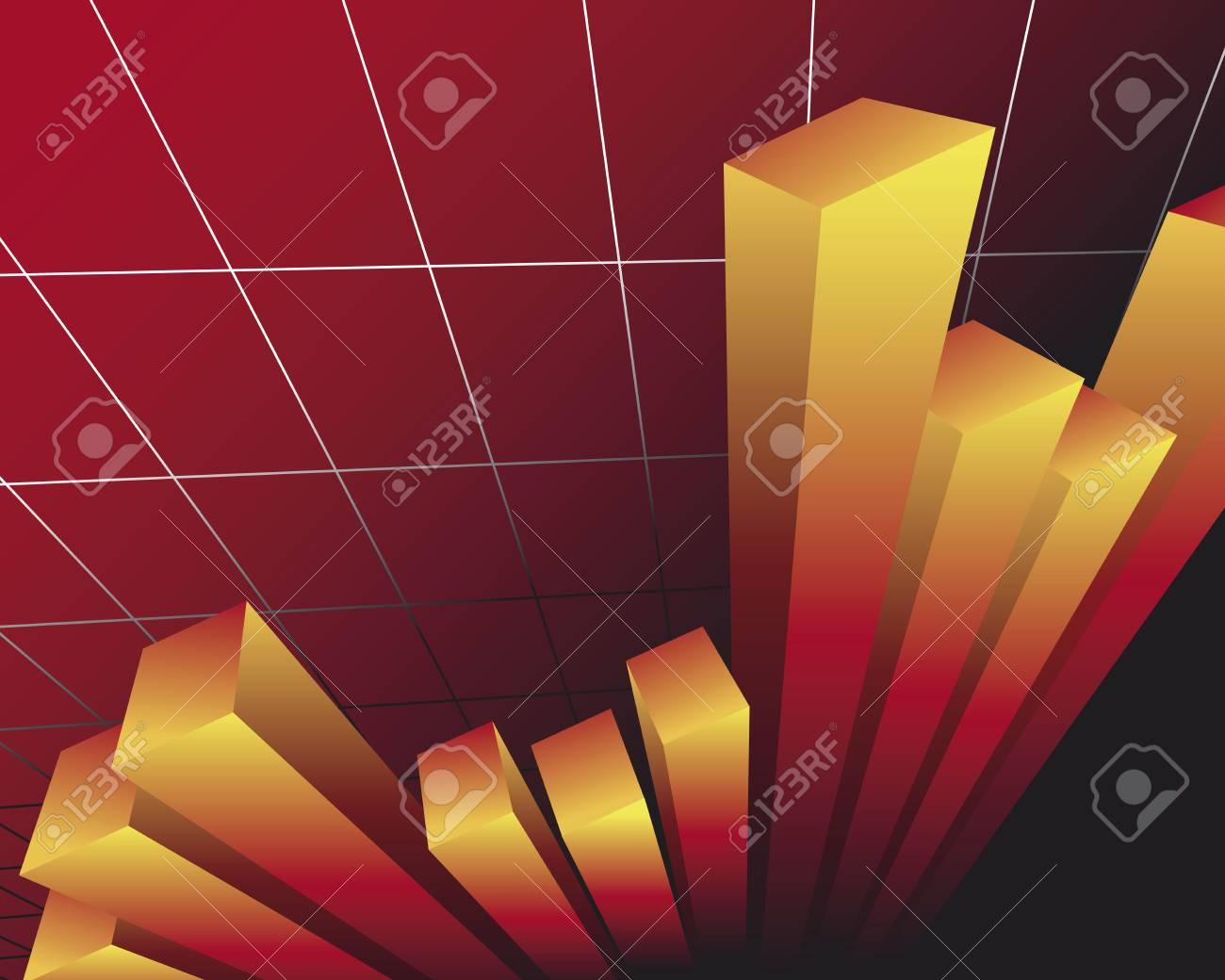 bar chart Stock Vector - 5076646