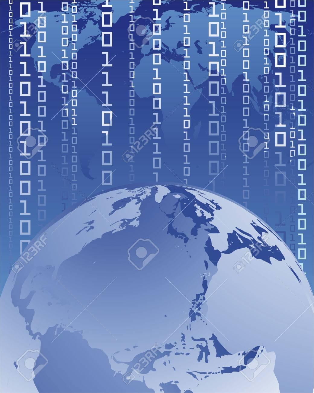 digital world Stock Vector - 5205740