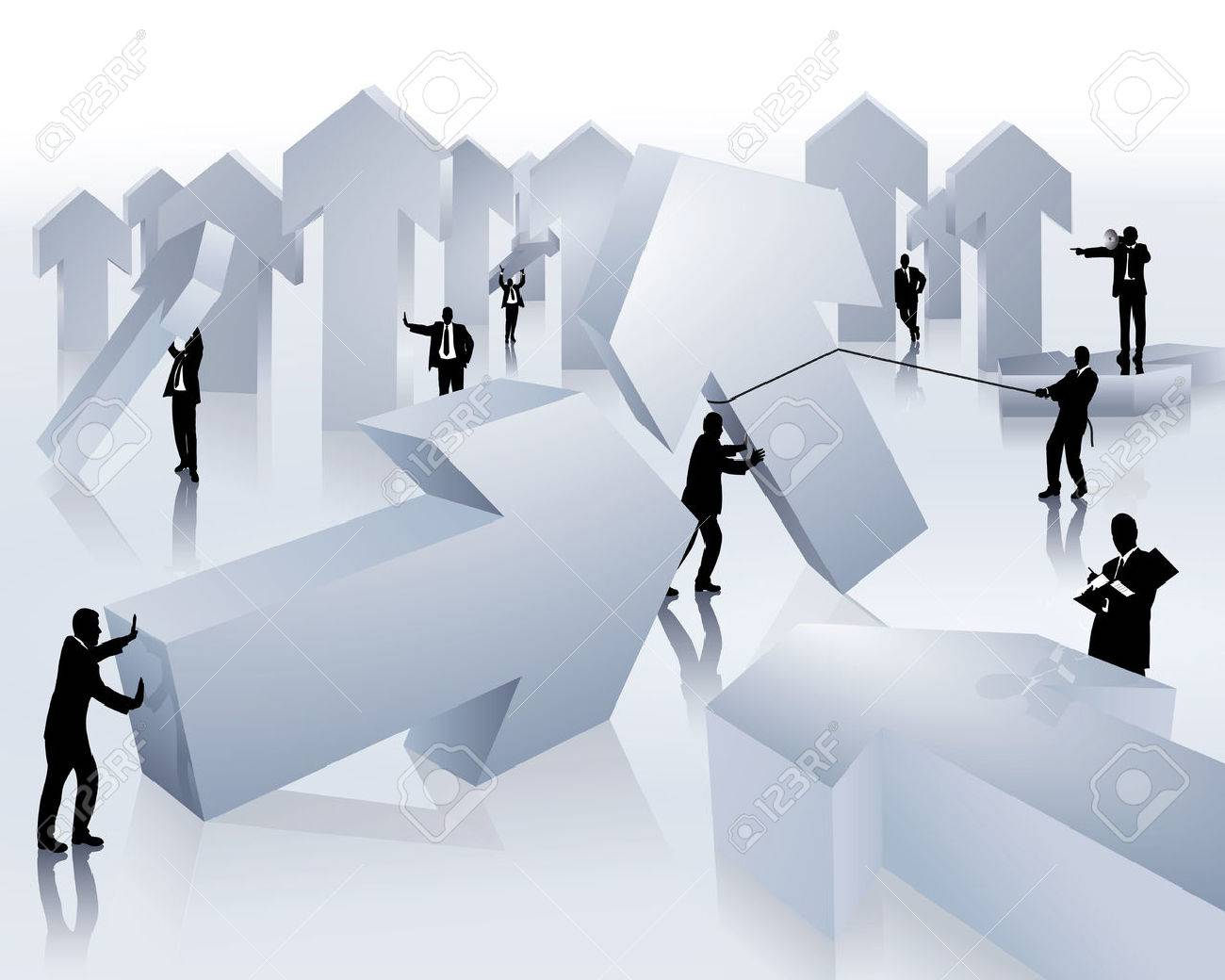 teamwork Stock Vector - 8891468