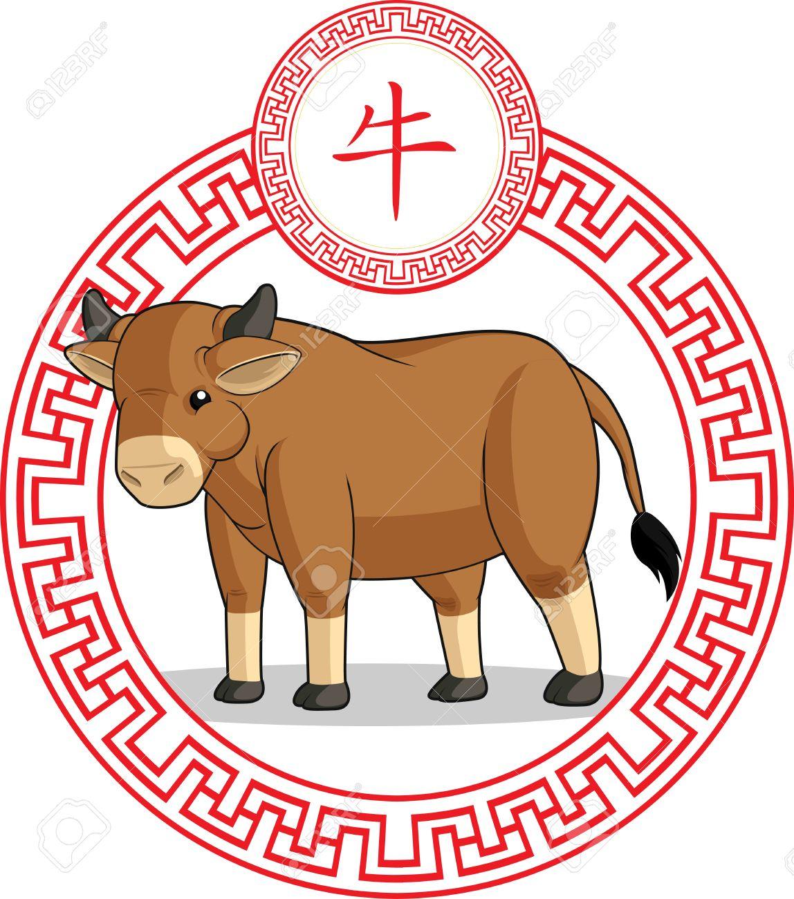Chinese Zodiac Animal - Ox