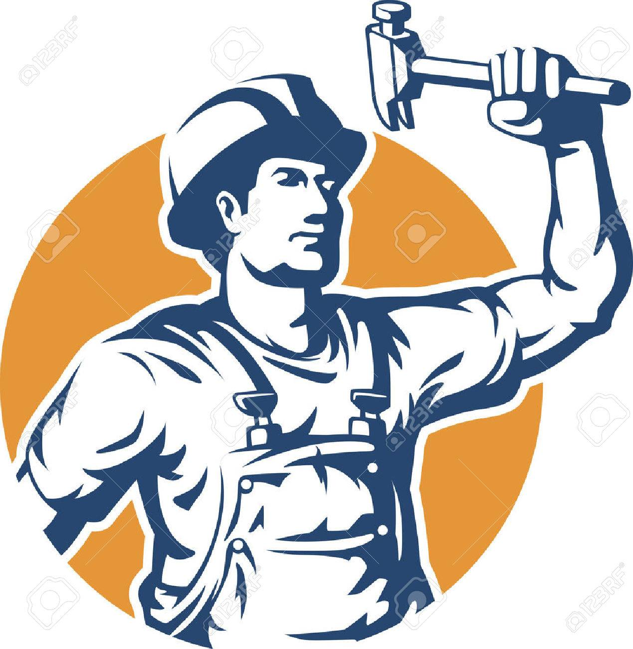 50,433 Construction Worker Stock Vector Illustration And Royalty ...