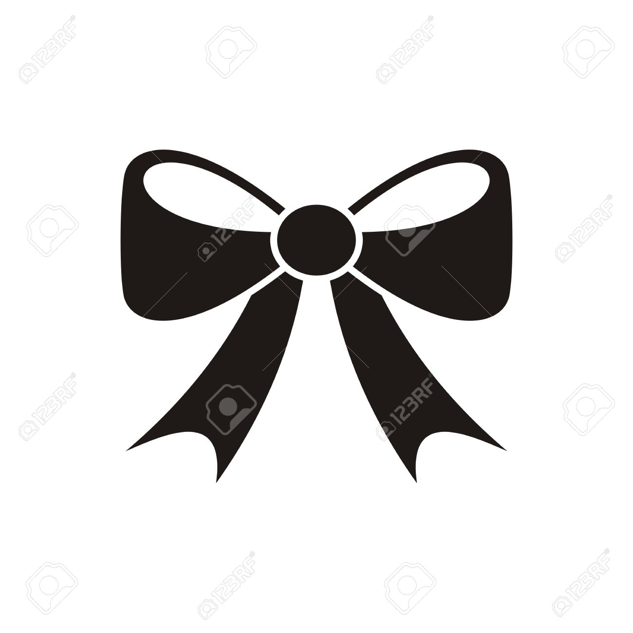 black vector bow icon isolated on white background royalty free rh 123rf com vector bowls used vector bowls uk