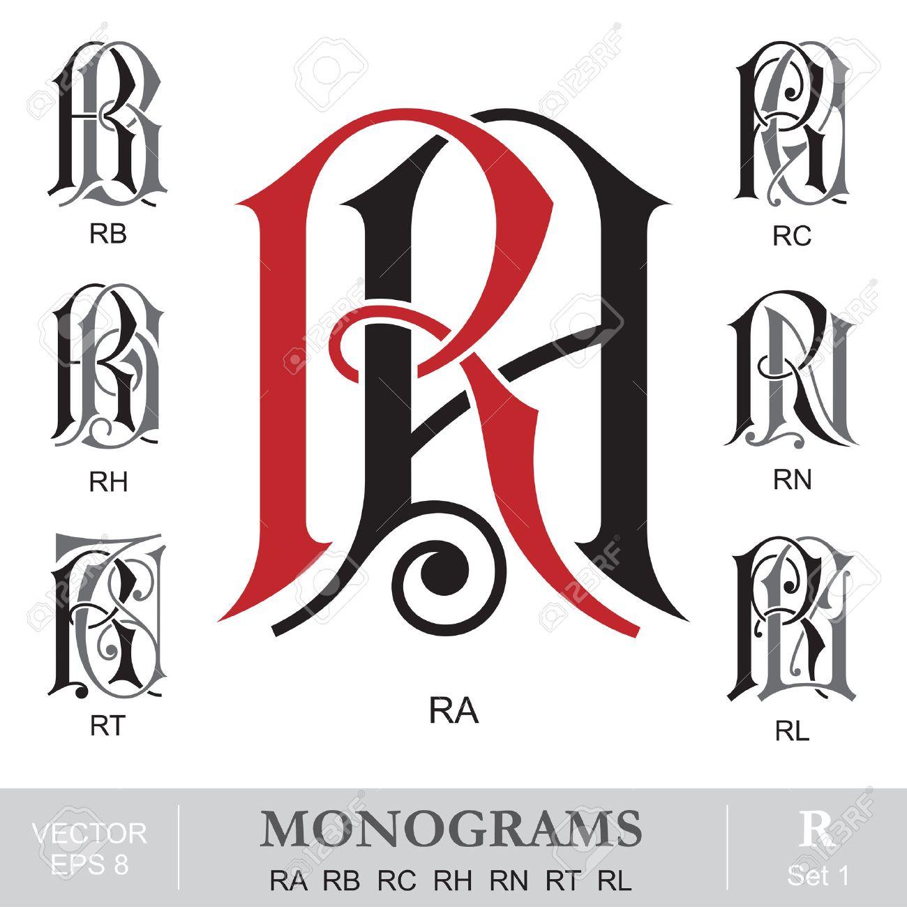247 rb stock illustrations cliparts and royalty free rb vectors vintage monograms ra rb rc rh rn rt rl illustration buycottarizona Choice Image