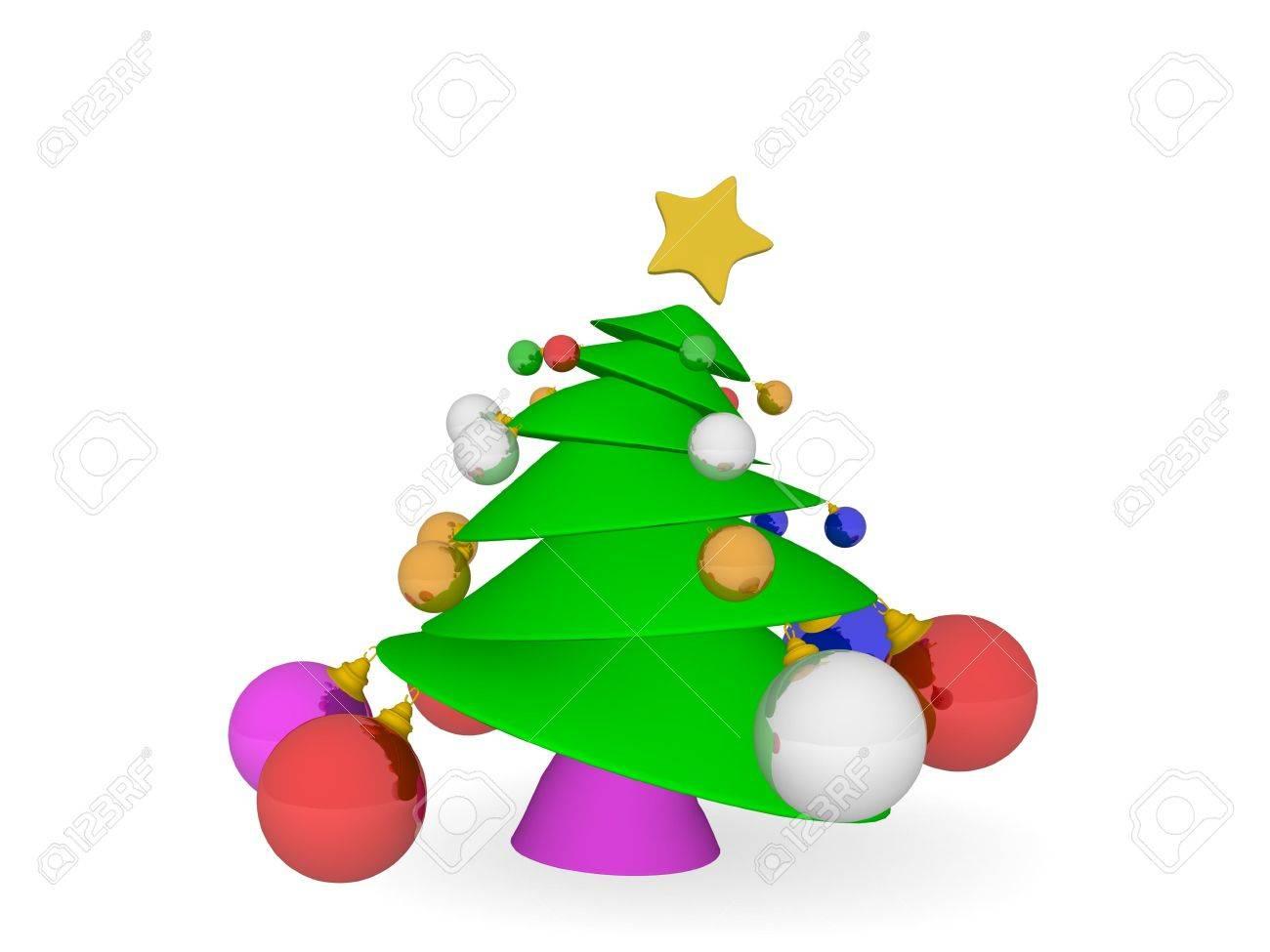 Christmas tree Stock Photo - 5448680