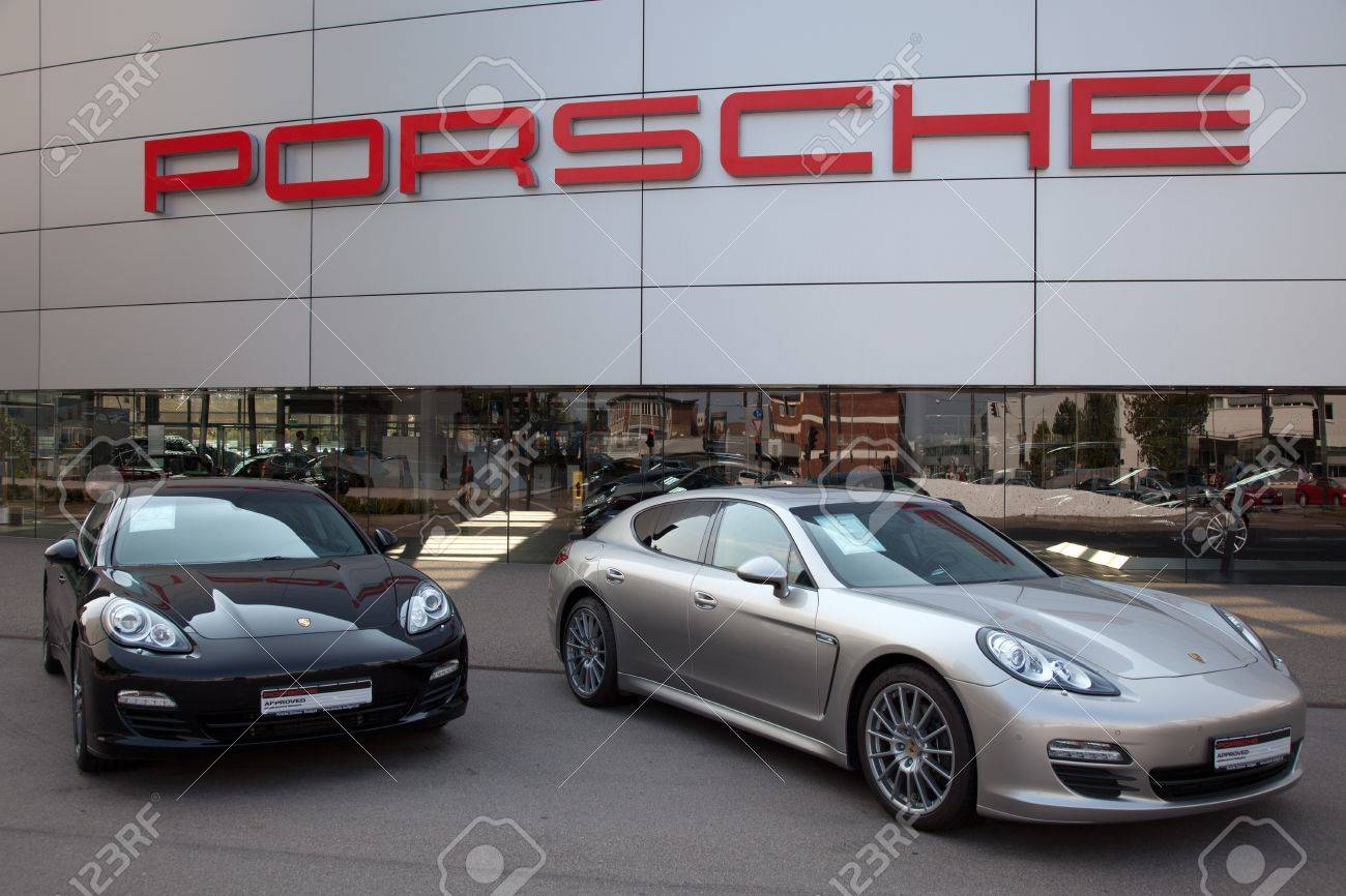 Stuttgart Germany September Porsche Panamera Sports - Sports cars 2012