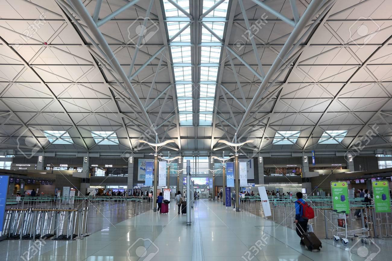 Incheon, Südkorea - 24. Mai 2016: Terminal Von Seoul Incheon ...