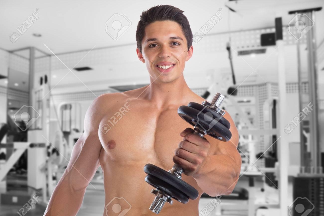 Bodybuilder Bodybuilding Muskeln Körper Builder Turnhalle Stark ...
