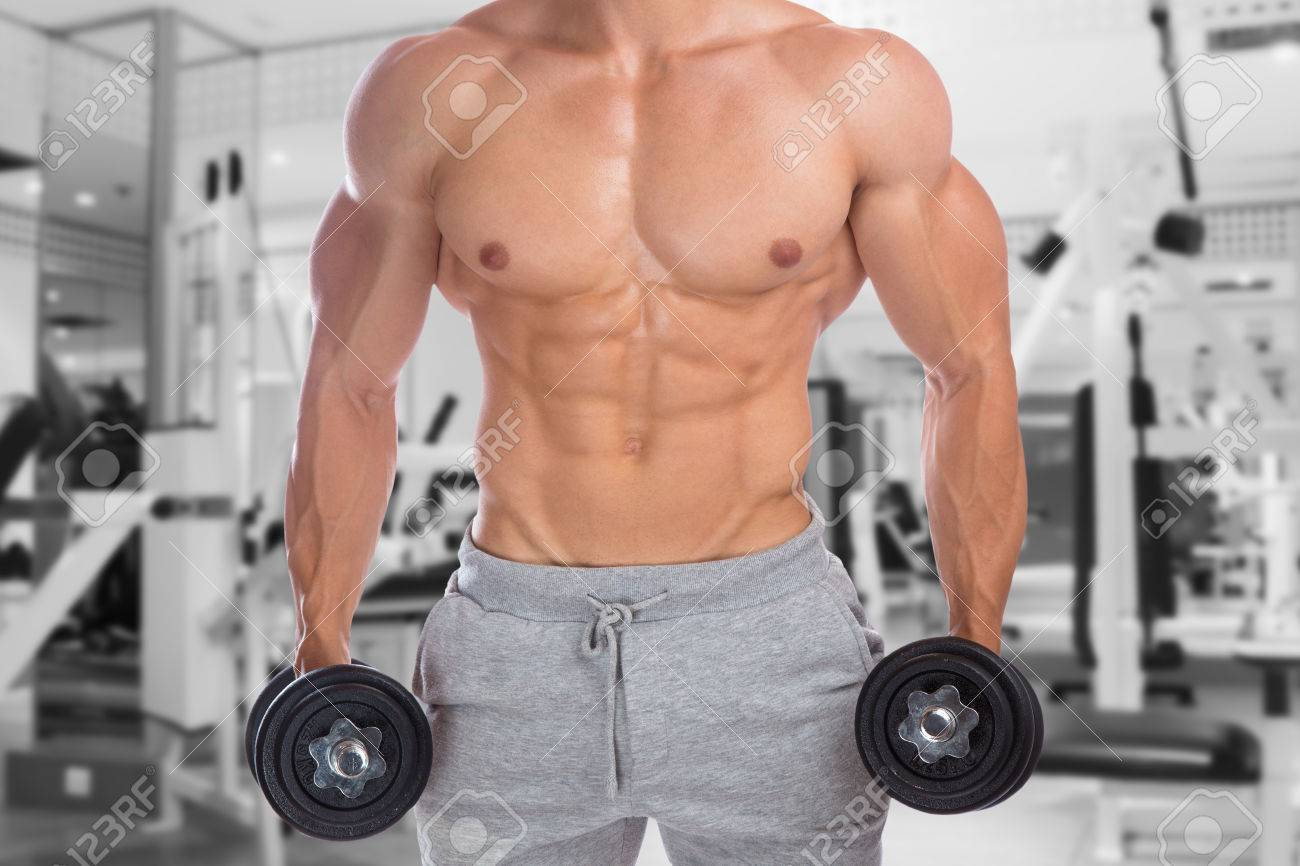 Bodybuilder Bodybuilding Muscles Upper Body Gym Strong Muscular