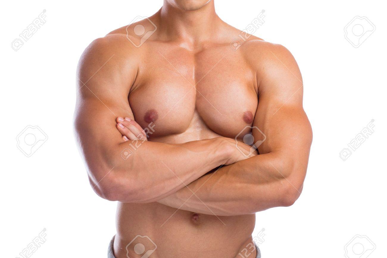 Bodybuilder Bodybuilding Chest Muscles Upper Body Builder Building