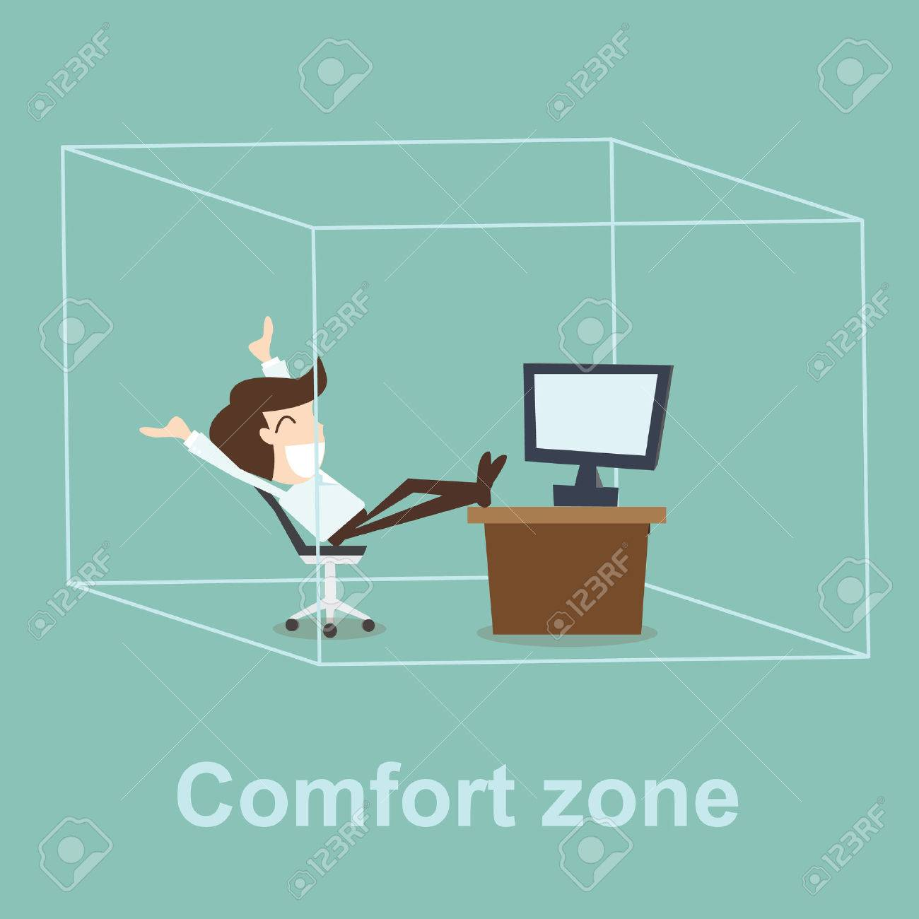 Comfort zone concept - 33471877