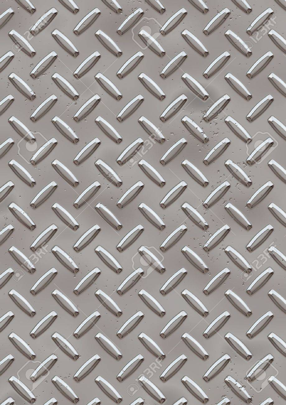 Computer generated high resolution diamond plate Stock Photo - 1000870