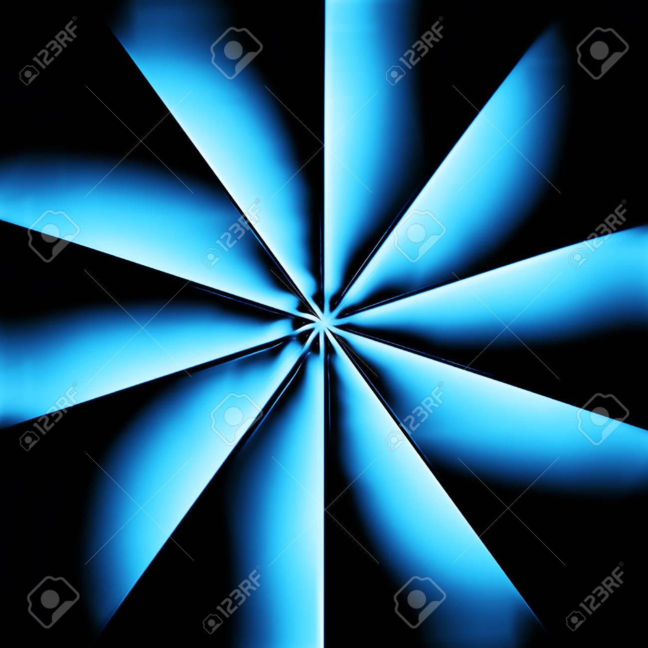 A blue radiator on dark background Stock Photo - 5449369