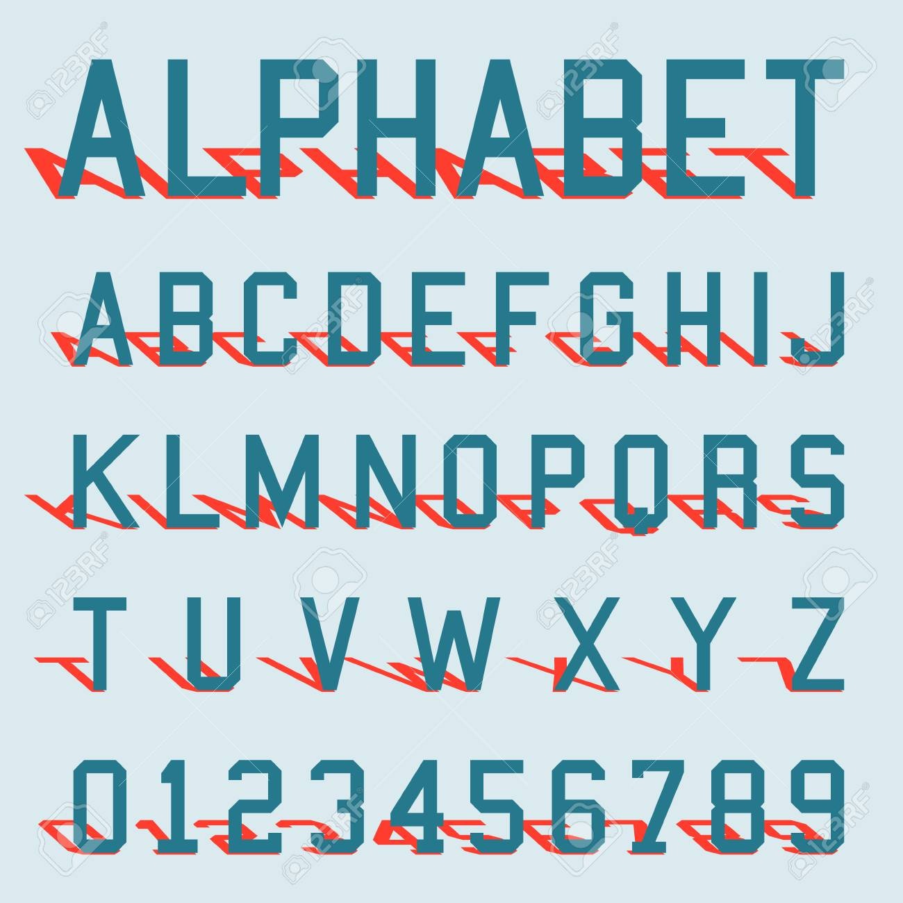letters and numbers templates free - Forte.euforic.co