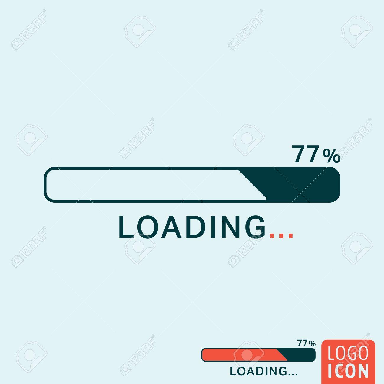 Loading icon loading logo loading symbol progress bar icon loading icon loading logo loading symbol progress bar icon isolated minimal design biocorpaavc Image collections